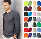 Gildan 2400 Ultra Cotton® (Pack of 3) Blank Adult Long Sleeve T-Shirt Bulk Lot image