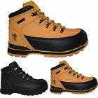 MENS LEATHER LIGHTWEIGHT STEEL TOE CAP SAFTEY BOOTS ANKLE LACE WORK SHOE TRAINER