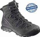 Salomon Quest 4D GTX Forces Black GORE-TEX Military Boots Polizei Schuhe  <br/> * All Sizes Available - Worldwide FREE shipping *