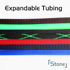 ALL SIZES&COLOR 10FT - 35FT Expandable Wire Cable Sleeving Braided Tubing Lot