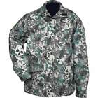 new mens green skull camo water resistant