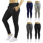 2 Pack Womens French Terry Jogger Pants Loose Fit Cotton Blend Lounge Sweatpants