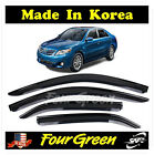 2007+2008+2009+2010+2011+TOYOTA+CAMRY+DOOR+WINDOW+VISOR+VENT+RAIN+GUARD