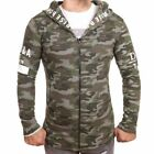 D & A Lifestyle Since 78 Long Zip Hoodie Camouflage(136840)