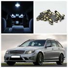 14xNo Error LED Interior Light Package Fit 2011-13 Mercedes Benz C-Class W204 US