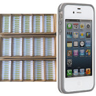Wholesale Lot For Apple iPhone 4 4s White Slim Shell Case - 10 20 50 100 Cases