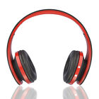 iFunCity BTH-8252 intelligent head-wearing blurtooth headset -Black Red