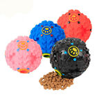 3 Size Small Interactive Treat Dispensing Dog Chew Toy Food Fetch Squeaky Ball