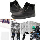 Men Lace Up Winter Snow Hiking Boots Martin Casual Tooling Cotton Outdoor Boots