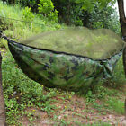 Outdoor Double Person Camping Survival Tent Hanging Hammock Bed W. Mosquito Net