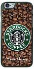 Starbucks Coffee bean Logo Phone Case Cover personalized for iPhone Samsung etc