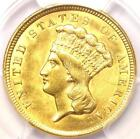 1854 Three Dollar Indian Gold Piece $3 - Certified PCGS AU Details - Rare Coin!