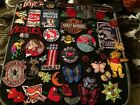 40+PATCH LOT - Assorted, a Sew/Iron-on VINTAGE to NOW Haley Davidson and more.