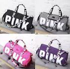 Victoria's Secret PINK Double Strap Duffle Gym Bag - Pink Grey Black or Purple