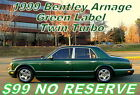 1999+Bentley+Arnage+Green+Label+Twin+Turbo++%2499+No+Reserve+Auction