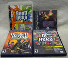 Lot of Playtation Games PS PS2 PS3 Medal of Honor Band Hero Guitar Hero DJ Hero
