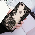 For iPhone XS MAX XR 8 7 6 X 5 Slim Pattern Hybrid Acrylic Shockproof Case Cover
