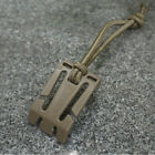 2X Military Elastic Cord Hang Buckle Clip PALS MOLLE Style Webbing Backpack CA