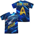STAR TREK SPACE FRONTIER Licensed Sublimation Adult Men's Tee Shirt SM-3XL