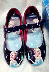 Frozen Elsa Anna Kids Girl Low Heels Princess Cosplay Shoes Dress Up Party Shoes