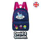 David And Goliath Where Sprinkles Come From Unicorn Large Backpack Bag