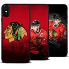 Chicago Blackhawks Jonathan Toews NHL Silicone Cover Case for iPhone Samsung