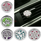Stainless Steel Car Truck Vent Clip Air Freshener Essential Oil Diffuser