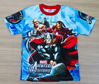 THE AVENGERS Kids Girls Boys T shirt Size 6,8,10,12 age 2-10 #29 New FREE SHIP