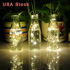 USA 20M 200LED Solar Copper Wire String Fairy Light Christmas Lamp Home Decor