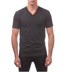 BIG AND TALL MEN'S V-NECK +10 COLORS US SIZE PROCLUB CASUAL HIP HOP FRESH S-5XL