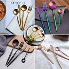 3D Mermaid Stainless Cutlery Set Iridescent Kitchen Dining Forks Knives Spoon UK