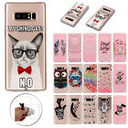 For Samsung Galaxy Phone/Note 8/S8 Plus Cute Painted Pattern Soft TPU Case Cover