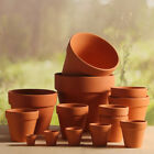10pcs Terracotta Flared Square Planter Plant Flower Pots Garden Outdoor Indoor