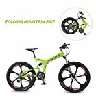 "RD100 26"" MTB Shimano 24 Speeds Full Suspenion Folding Mountain Bike Bicycle"