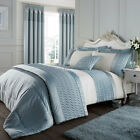 Catherine Lansfield Signature Quilted Luxury Satin Duvet Cover Set