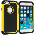 iPhone 6 PLUS/6S PLUS Hybrid Rugged Grip Shockproof Case Tough Armour Cover