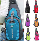 Mens Womens Nylon Crossbody Shoulder Chest Cycle Sling Bags