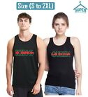 King Queen TANK Top GREEN RED Line Fashion Style Couple Tee Tank Top
