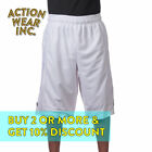 PROCLUB PRO CLUB MEN&#039;S BASKETBALL SHORTS HEAVYWEIGHT MESH SHORTS ACTIVE HIP HOP <br/> *BUY 2 OR MORE &amp; GET 10% DISCOUNT. BUY WITH CONFIDENCE*