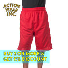 PROCLUB PRO CLUB MEN'S HEAVYWEIGHT BASKETBALL SHORTS ACTIVE MESH SHORTS HIP HOP <br/> *BUY 2 OR MORE & GET 10% DISCOUNT. BUY WITH CONFIDENCE*