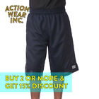 PROCLUB PRO CLUB MENS MESH SHORTS HEAVYWEIGHT CASUAL BASKETBALL SHORTS ACTIVE