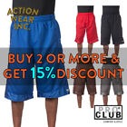 PROCLUB PRO CLUB MENS HEAVYWEIGHT BASKETBALL SHORTS ACTIVE MESH SHORTS HIP HOP