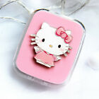 New Cute HelloKitty Design Contact Lens Case Soak Storage Cosmetic Box AA-D2003