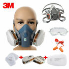 3M Spray Dust Paint Mask Vapour Face Respirator Filter Spray Protect Smoke Gas
