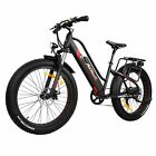 Addmotor MOTAN Electric Bicycle 500W Step Thru E-bike Full Suspension Bikes M450