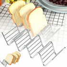 2-4 Compartments Taco Holder Stainless steel Mexican flour tortilla tool