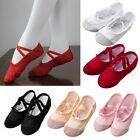 Внешний вид - Girls Canvas Ballet Pointe Dance Shoes Fitness Gymnastics Slippers Kids Dancing
