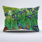 26 by 26 pillow case - IRISES BY VINCENT VAN GOGH Zippered Pillow Case 16