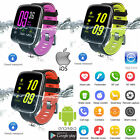 """1.54"""" Smart Watches BT4.0 Pedometer Heart Rate Monitor 3M IP68 Water-Resistant"""
