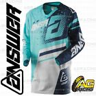 Answer 2018 Elite Teal Navy Adult Race Jersey Shirt Motocross Enduro